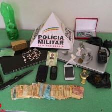 25/05/2015,Suspeito de tráfico é preso no Centro.