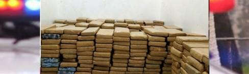 PRF apreende mais de 400 Kg de maconha que abasteceria Ubá e Região