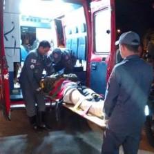 16/06/2015,Motoqueiro fica ferido em acidente na Jacob Lopes de Castro.