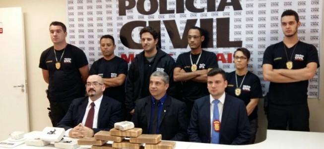 Em Ubá: Polícia Civil apreende drogas avaliadas em mais de R$180 mil