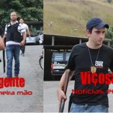 Mulher confessa assassinato e Policia Civil faz reconstituição do crime em Ponte Nova