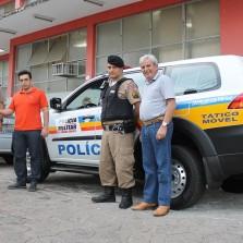 POLÍCIA MILITAR DE VIÇOSA RECEBE NOVA VIATURA
