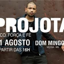 """Agita produções e eventos apresenta """"PROJOTA"""" em Viçosa."""