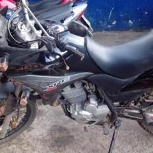 PM recupera motocicleta roubada