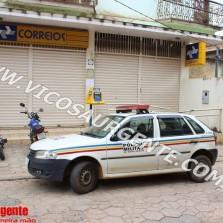 Agência dos correios é assaltada em Teixeiras