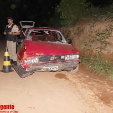 Homem fica ferido em acidente na zona rural de Teixeiras
