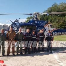 Vôo pela Vida, helicóptero da PM transporta recém-nascido para UTI neonatal em Viçosa