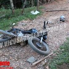 PM recupera motocicleta roubada no Centro