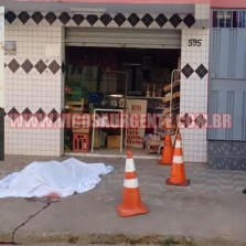 Comerciante é assassinado na rua da Conceição