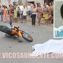 Mulher morre atropelada na Rua dos Passos