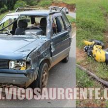 Jovem morre em acidente próximo de São José do triunfo