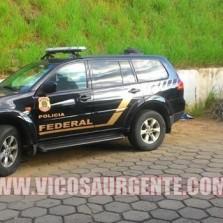 Polícia Federal investiga furto ocorrido na UFV