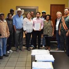 Assinado o contrato para construção de creche de R$ 460 mil no Carlos Dias