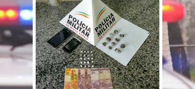 Suspeito de tráfico de drogas é preso no Nova Era
