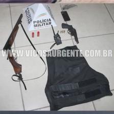 PM prende suspeitos de tentativa de homicídio no Carlos Dias