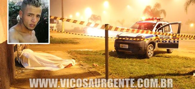 Jovem é assassinado Coimbra