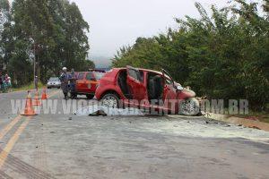 acidente grave deixa quatro mortos na BR120 em Viçosa