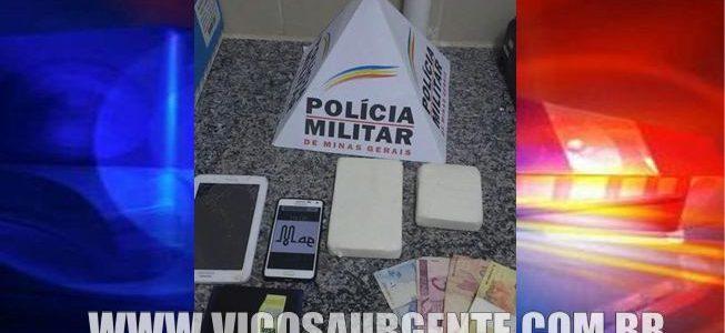 Suspeitos de tráfico de drogas são presos na Br120 em Viçosa