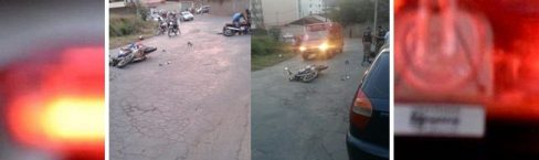 Colisão entre duas motocicletas deixa três ferido em Silvestre