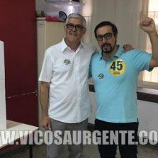 Ângelo Chequer vence a reeleição para prefeito de Viçosa