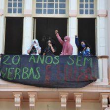 Ocupação de estudantes no Bernadão da UFV, chega ao 2º dia e recebe apoio de entidades sindicais