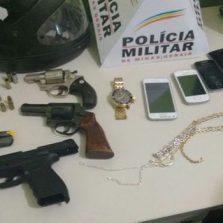 Viçosenses são presos na região de Manhuaçu após roubo em agência dos correios de Luisburgo