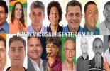 Vereadores eleitos em Viçosa