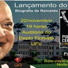 O livro PUNHO CERRADO – A HISTÓRIA DO REI, vai ter noite de autógrafos em Viçosa