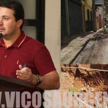 Vereador apresenta abaixo-assinado sobre os transtornos causados por obra no Nova Era