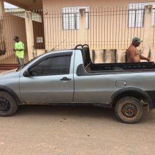 Em São Geraldo, PM recupera caminhonete roubada