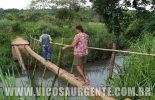 Vereador faz vistoria em ponte no Zig Zag