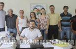 Prefeito autoriza obra de ampliação da Escola Municipal Pedro Gomide Filho
