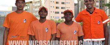 AGENTES DE LIMPEZA DO SAAE DÃO EXEMPLO DE HONESTIDADE