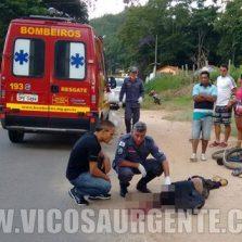 Ciclista morre atropelado na rodovia Viçosa/Paula Cândido