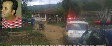Lavrador é assassinado na zona rural de Porto Firme