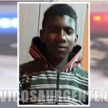 Adolescente de 13 anos é morto a tiros em Estevão de Araújo