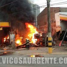 Carreta de Cimento invade posto de combustíveis e mata duas pessoas em Ponte Nova