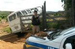 Veículo usado para roubar boi é apreendido pela PM de São Miguel do Anta