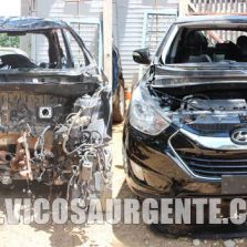 PM apreende veículos adulterados no Santa Clara