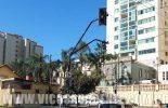 Semáforos passam por reparos