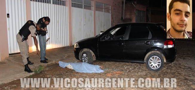 Jovem é assassinado em Viçosa