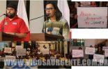 Servidores municipais realizam manifestação na Câmara