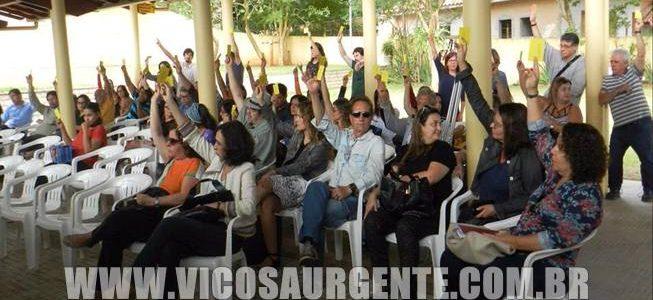 Professores da UFV aprovam adesão à Greve Geral da próxima sexta-feira