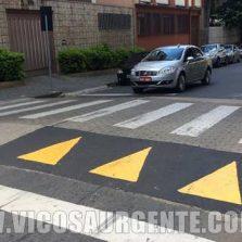 Diretoria de Trânsito orienta sobre função das faixas elevadas