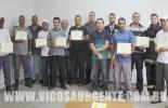 Agentes de Trânsito de Viçosa recebem capacitação sobre primeiros socorros