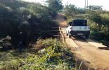 Defesa Civil interdita ponte de madeira em São José do Triunfo