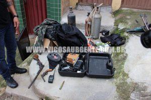 Operação conjunta: Policial é preso por incêndio em agência do Banco do Brasil na UFV