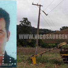 Eletricista morre eletrocutado na zona rural de Coimbra
