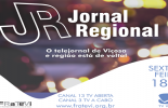 Jornal Regional volta a ser apresentado pela TV Viçosa