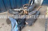 Polícia encontra motos roubadas e desmanchadas em Viçosa